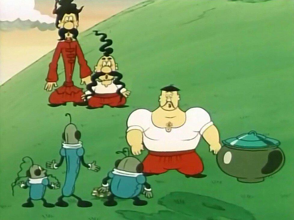 Как казаки инопланетян встречали