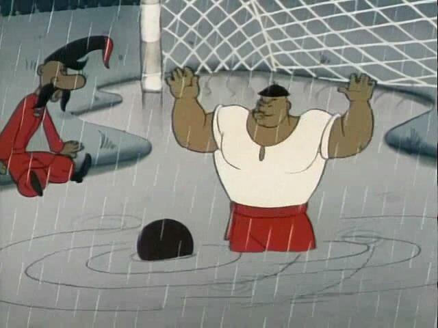 Как казаки в футбол играли